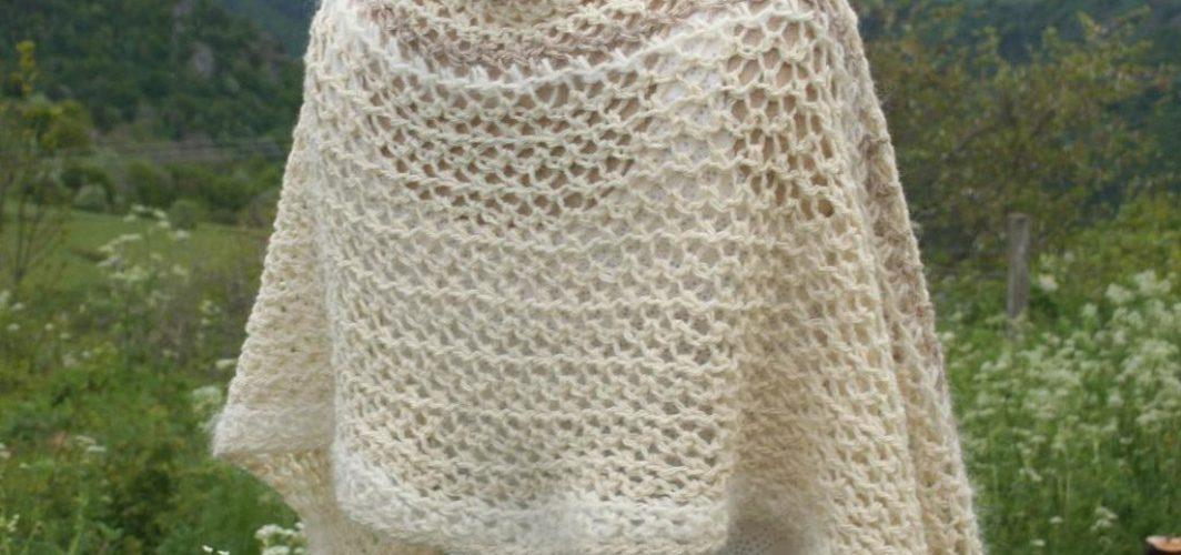 chauffe épaule en laine