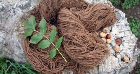 teinture de laine naturelle